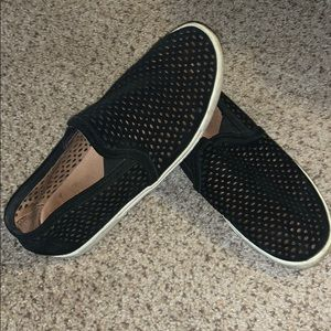 Joie slip on black shoes size 6